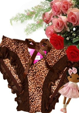 brown,animal, print,bridal,panty,online,online india
