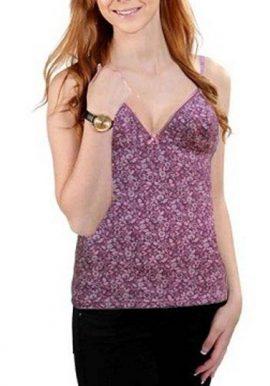 Purple Floral Camisole