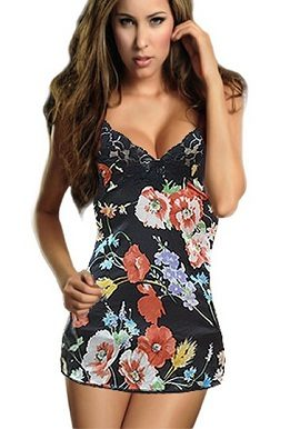 black,floral,print,d&g,camisole,online,onlineindia