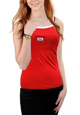red,d&g,camisole,online,onlineindia