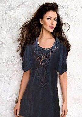 Design Black Coloured Tunic|buy|