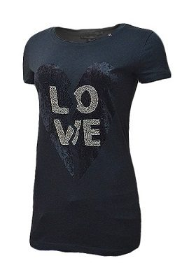 Gas Love Print Black Tee|online|tee|
