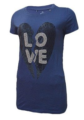 Gas Love Print Blue Tee|buy|tee|online|