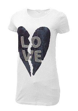 Gas Love Print White Tee|online|buy|tee|