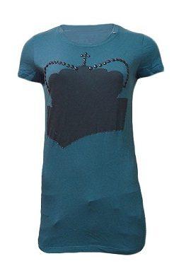 Gas Sea Blue Half Sleeves Tee|tee|buy|online|