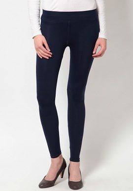 Navy Blue Coloured Legging|online|