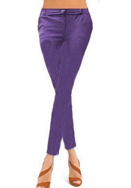 Purple Coloured Skinny Jeggings buy 