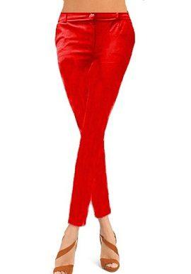 Red Coloured Skinny Jeggings