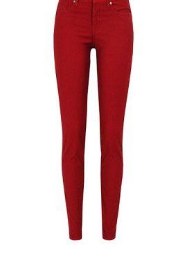 Red Slim Fit Jeans buy online 