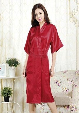 Sexy Hot Red Crepe Robe|buy|robe|online|india|