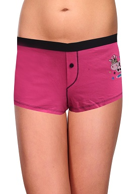 Cool Pink Print Boyshort |buy|online|India|