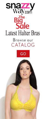Halter Neck Bras online India  snazzyway