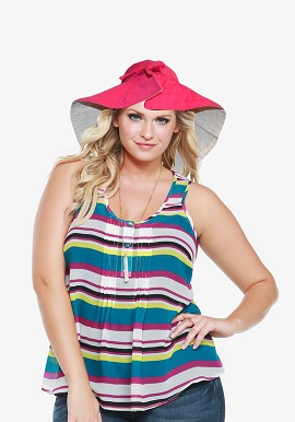 Beach Bucket Sun Protective Hat