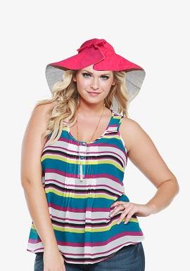 Beach Bucket Sun Protective Hat