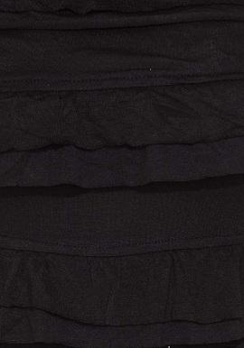 Black Halter Neck With Trims Camisole Top