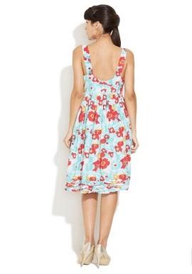 Girls Multi Colour Hues Cotton Dress 1