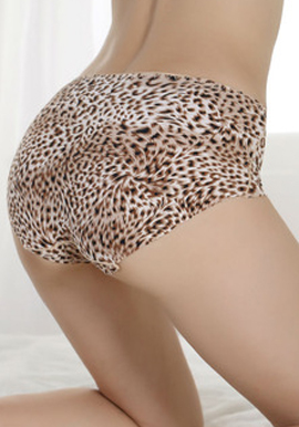 Hot Sexy Silky Soft Seamless Animal Print Panties