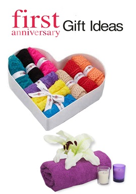 Flirty 1st Marriage Anniversary Gift Pack For Her