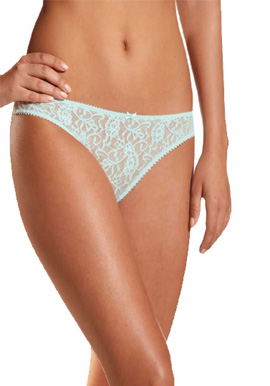Intimates Women's Lace See Through Thong Low Rise