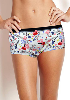 New Freespirit Smooth Boyshort panty