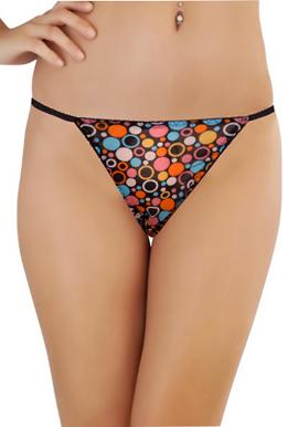 Splash Women's Multi Printed String Thong