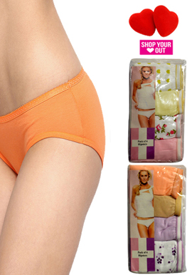 Wholesale Lot Of 8 Hushh Smooth Hipster Panties