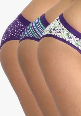About U Set Of 3 Assorted Normal Wear Brief