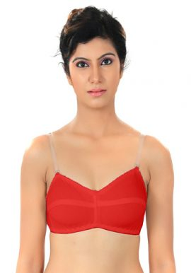 Native Women's Transparent Strap Bra Pk Of 2