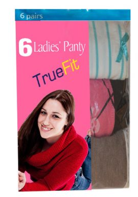 Soft Cotton Variant Pack Of Six Panties