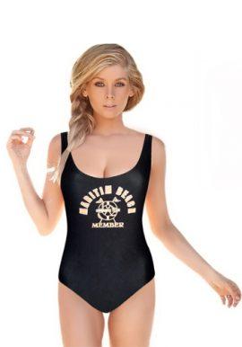 Women's Wonderful Orange Flag Print Swimsuit