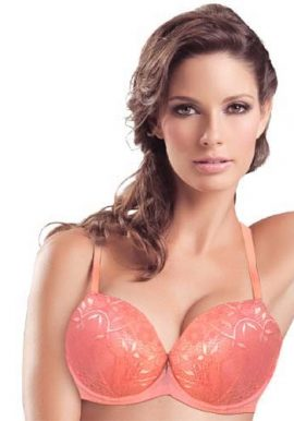 Hushh Beautiful Lacy Embroidery Push Up Bra
