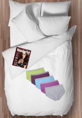 Hushh Extra Comfort Organic Cotton Panties ( Pk of 5)