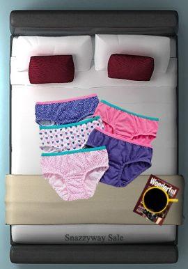 Hushh Luxury Cotton Hipster Panties ( Pk of 5)