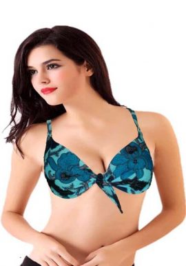 Calida Paisley Floral Print Underwired Bra