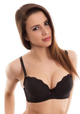 Extreme Hot and Sexy Black Push Up Bra