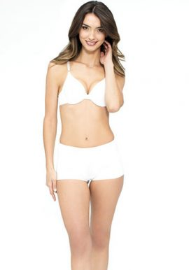 Extreme Mix n Match White Push Up Bra Boyshort Set
