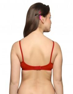 Cotton V- Neck Bras Free Matching Panties 6-Pk
