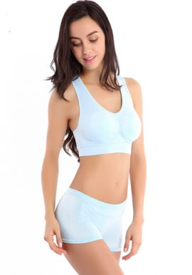 New Running Seamless Padded Sporty Set