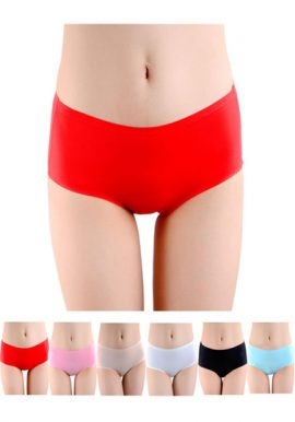 Wonderful Assorted Brief Panties Pack Of 6