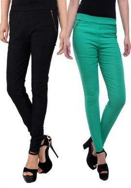 Great Deal- Women's 2 Assorted Pull On Jeggings