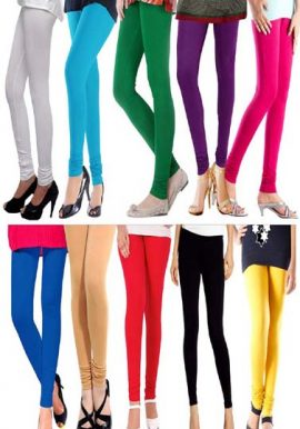 Lot Of 10- Wholesale Full Length Fashionable Leggings