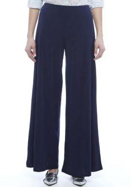 Snazzyway-Fabulous-Navy-Blue-Chiffon-Palazzo-Trouser