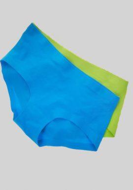 Snazzyway Seamless Microfiber Hipster Panties Pk-2