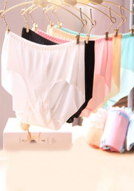 Snazzyway Plain Microfiber Hipster Panties 5-Pack