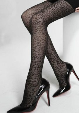 Kongque Glorious Leopard Print Tights