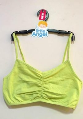 Bpc Kids Freedom Lime Green Adjustable Strap Crop Top