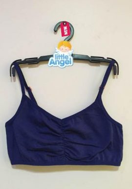 Bpc Kids Freedom Navy Blue Spaghetti Strap Sports Bra
