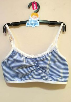 Bpc Striped Print Cotton Young Girls Training Bra