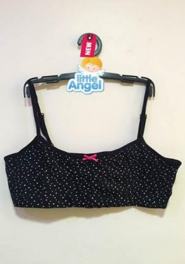 Primark For Angel White Polka Dot Printed Crop Bra