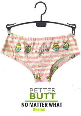 Secret Possessions Is It The Weekend Yet Print Hipster Panty